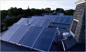Commercial Solar Hot Water